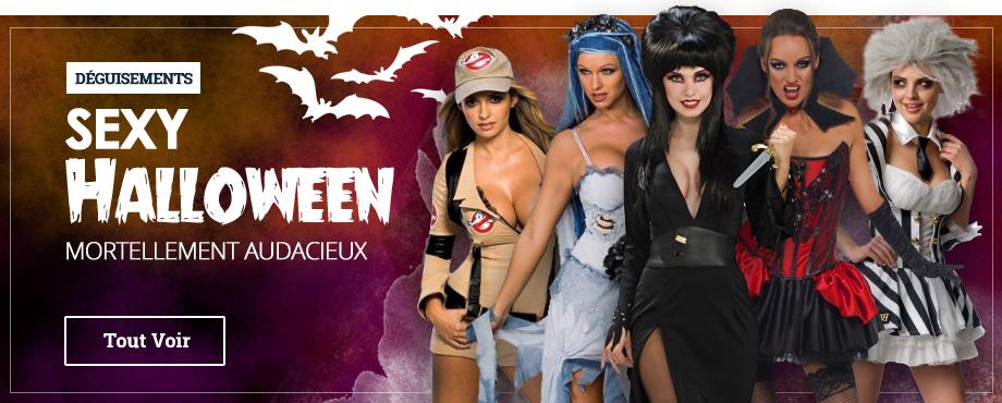Déguisements Sexy Halloween