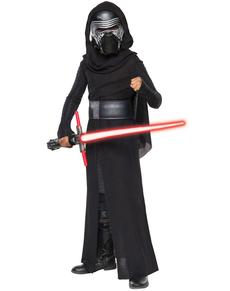 Costume Kylo Ren Star Wars Épisode 7 prestige garçon