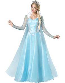 Déguisement Princesse des neiges femme