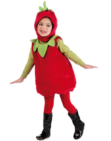 Déguisement jolie fraise enfant