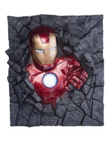 Figure Décorative Iron Man mur  Marvel