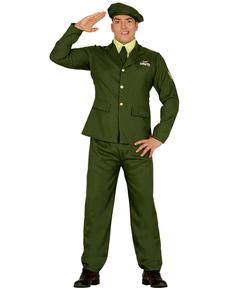 Déguisement sergent homme